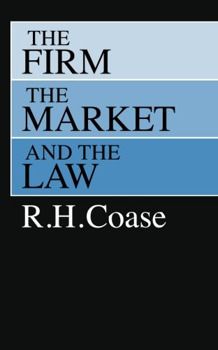 The Firm, the Market, and the Lawの詳細を見る