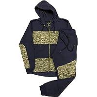 Royal Threads Canada Mens Light Sweat Jacket Sweatpants Biker Jogger Sweat Suit Fleece Suit Outfit