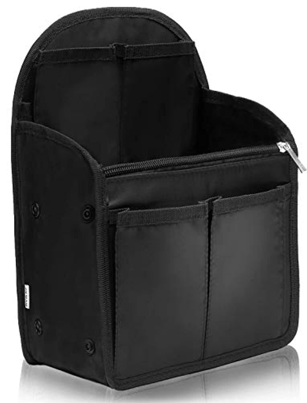 VILAU バッグインバッグ リュック インナーバッグ イン バッグ メンズ レディース 旅行バッグ キーリング付き バックインバック 27×20×13cm 【最新版】
