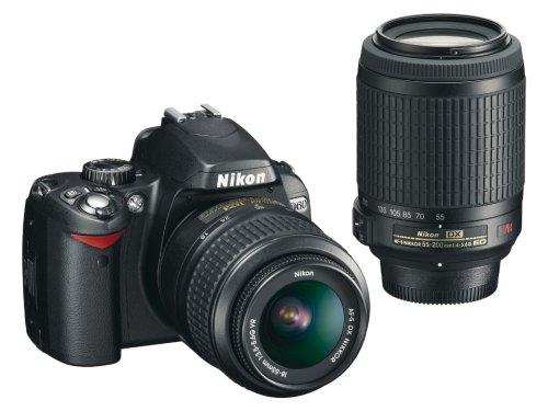 Nikon デジタル一眼レフカメラ D60 ダブルズームキット D60WZ