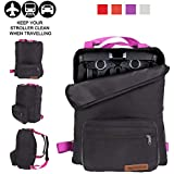 ZOEA Lightweight Stroller Travel Bag, Compatible with Gb Pockit Stroller and Gb Pockit Plus Lightweight Stroller (Purple)