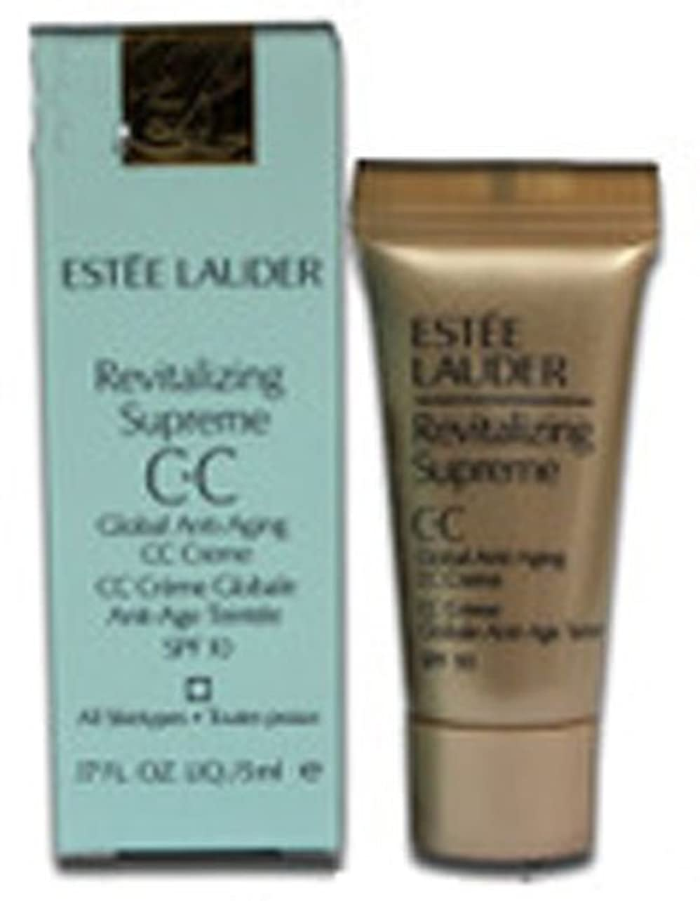 薄める振る舞い蜂エスティローダー REVITALIZING SUPREME GLOBAL AG C?C CREME SPF10 SPF10 5ml ESTEE LAUDER [並行輸入品]