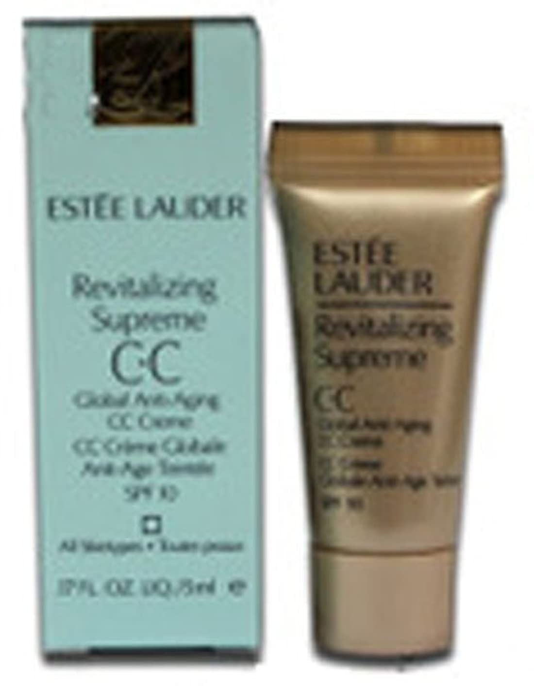 ソファー回答葉エスティローダー REVITALIZING SUPREME GLOBAL AG C?C CREME SPF10 SPF10 5ml ESTEE LAUDER [並行輸入品]