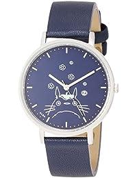 [アルバ]ALBA 腕時計 ALBA 大人ジブリ となりのトトロ 紺文字盤 ネイビー革バンド ACCK413