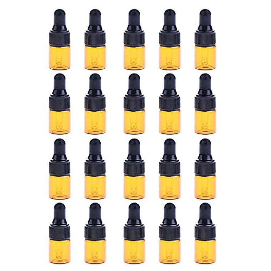 収入オンドリンク約20個 ドロッパーボトル エッセンシャルオイル ミニサイズ 詰め替え可 ガラス スポイトボトル