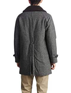 Boa Homespun Coat 1225-174-6420: Grey