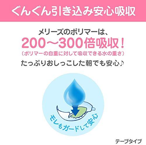 『【テープ 新生児用】メリーズさらさらエアスルー (お誕生~5kg) 90枚 【Amazon.co.jp限定】』の9枚目の画像