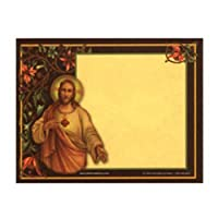 Holy Post Card - Sacred Heart & lmmaculate Hert 2P