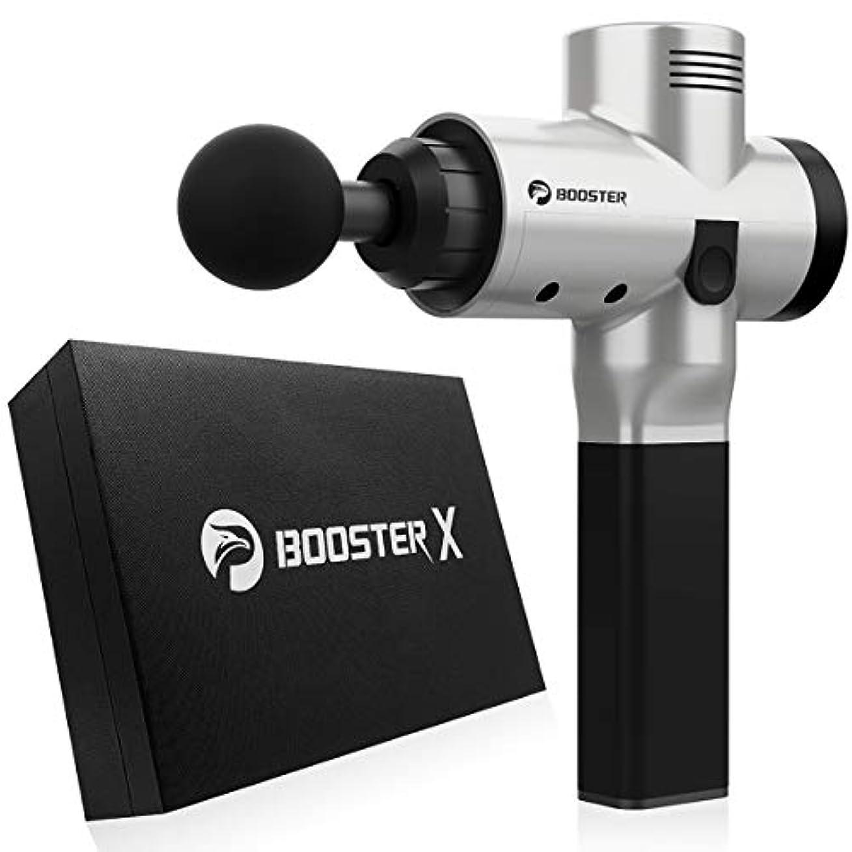 評決連続的ミッションBooster Pro X Massage Gun Cordless Noise Canceling Vibration Muscle Handheld Massager Relieve Back Neck Hand Foot...