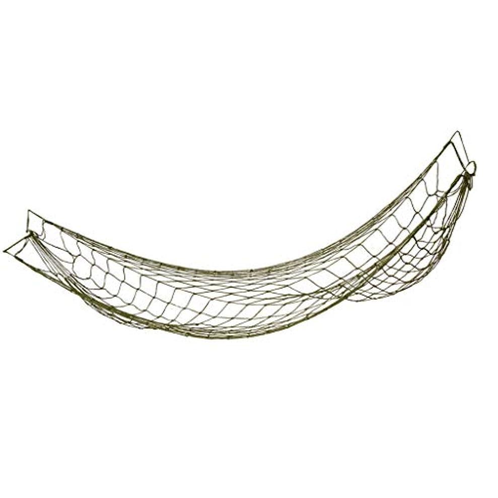 シルクうがい専制Baoblaze キャンプ用 ハンモック ポータブル ナイロン メッシュスイング