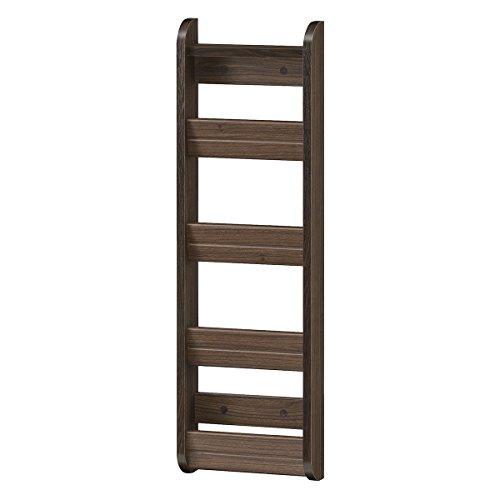 RoomClip商品情報 - 白井産業【SHIRAI】スリッパラック 木製 スリム ガルバートン 追加オプション ダークブラウン 幅約27cm 高さ約87cm GBT-8525SC