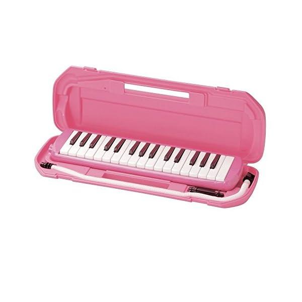 キクタニ 鍵盤ハーモニカ 32鍵 ピンク MM...の紹介画像2