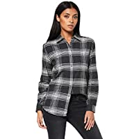 The North Face Women's Long Sleeve Boyfriend Shirt