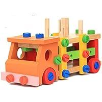 amezing hobby 大工さん セット 知育玩具 おもちゃ 工具 車 工具箱 トラック 子供 (トラック)