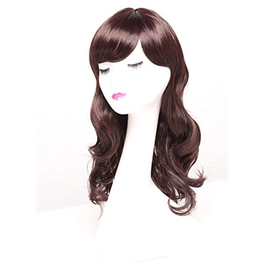 脈拍コールド現代のKerwinner 女性のための長い巻き毛のかつらかつらかつらと人工的な毛髪のかつら本物の髪として自然なかつら