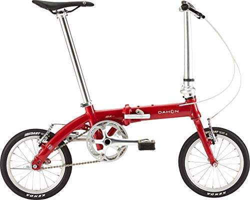 ダホン(DAHON) Dove Plus シングルスピード 折りたたみ自転車 19DOPLRD00 スパーキーレッド
