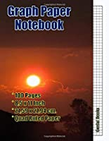 Graph Paper Notebook: (17) Quad Ruled, Grid Paper, 100 Pages (Large, 8.5 x 11)