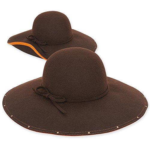 Adora HAT レディース カラー: ブラウン