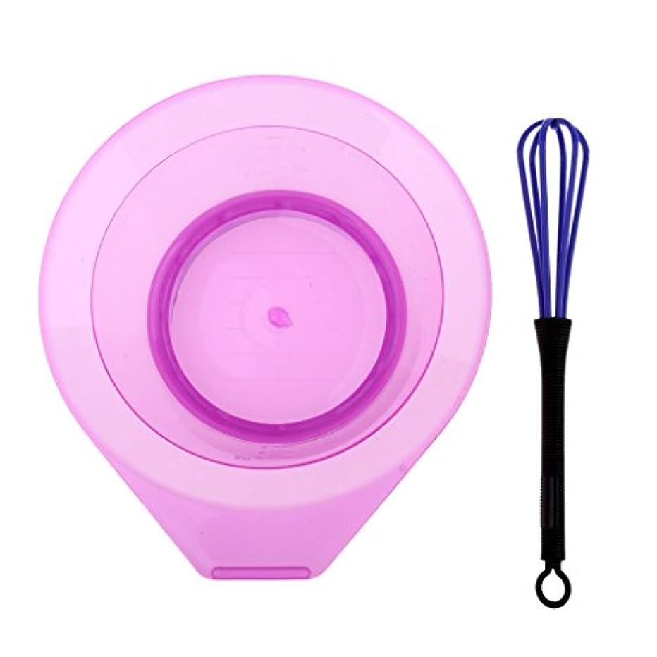 常にフィード完全にToygogo ヘアカラーボウル 染毛剤 ボウル 攪拌ボウル 攪拌機付き プラスチック製 洗濯可能 速乾性