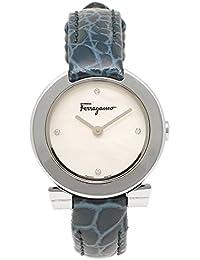 サルヴァトーレフェラガモ 時計 Salvatore Ferragamo FAP020016 レディース腕時計 ウォッチ ホワイトパール/シルバー/ブルー [並行輸入品]