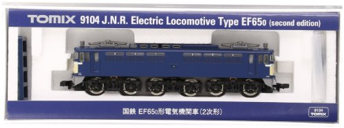 TOMIX Nゲージ 9104 EF65-0 (2次形)