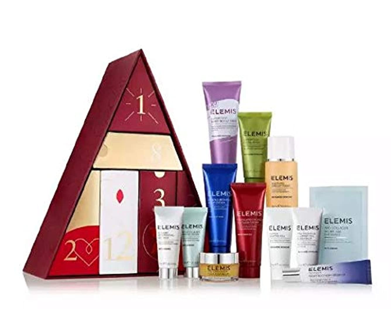 魅力剥離病院Exclusive New ELEMIS - '12 Days of Christmas' Skincare Gift Set