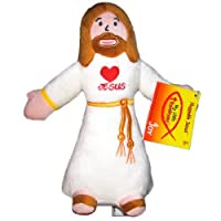 8.5 Love Jesus Huggable Jesus Plush Doll Toy with John 3:16 on Bottom [並行輸入品]