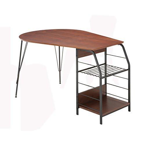 あずま工芸 テーブル フレシュ ダークブラウン色 TDT-1130