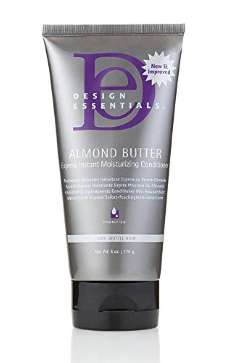 批判的に最も遠いで出来ているDesign Essentials Almond Butter Express Instant Moisturizing Conditioner - 6oz.
