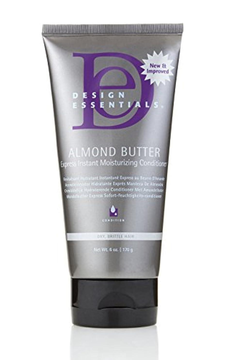 ホイール重要なヒューマニスティックDesign Essentials Almond Butter Express Instant Moisturizing Conditioner - 6oz.
