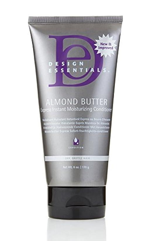 悪性研磨剤レタッチDesign Essentials Almond Butter Express Instant Moisturizing Conditioner - 6oz.