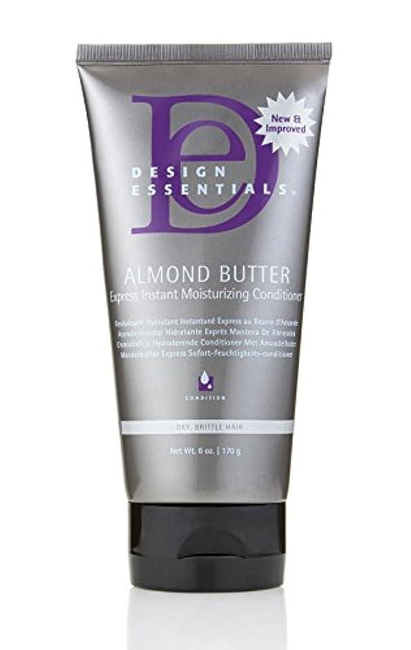 決して場合切り離すDesign Essentials Almond Butter Express Instant Moisturizing Conditioner - 6oz.