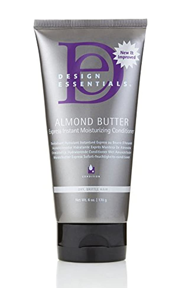 狂乱時計ピンチDesign Essentials Almond Butter Express Instant Moisturizing Conditioner - 6oz.