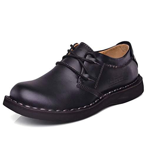 [Fengbao] ブーツ ワークブーツ メンズ 靴 革靴 ビジネスシューズ ローカット ウォーキング カジュアル 防滑 防水 おしゃれ