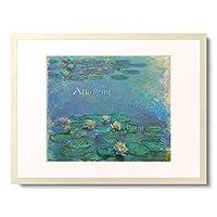 クロード・モネ Claude Monet 「睡蓮」 額装アート作品