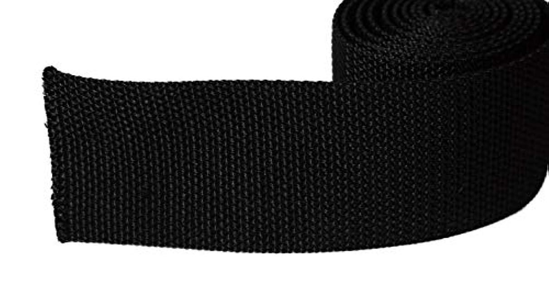 うめき声エゴマニアやるPP カバンテープ 黒のみ 巾5cm  1m価格