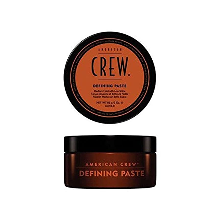 魅力従事した教室American Crew Defining Paste (85G) (Pack of 6) - アメリカの乗組員の定義ペースト(85グラム) x6 [並行輸入品]