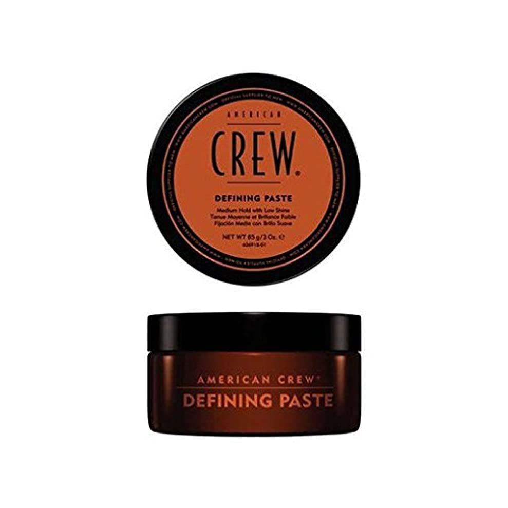 慈悲弁護言うアメリカの乗組員の定義ペースト(85グラム) x2 - American Crew Defining Paste (85G) (Pack of 2) [並行輸入品]