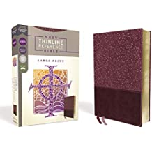 NRSV Thinline Reference Bible [Large Print, Burgundy]