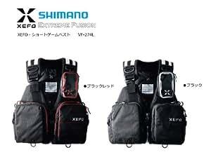 シマノ XEFO・ショートゲームベスト VF-274L ブラック