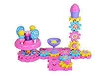 (Candies) - Hailey & Elijah Gears Building Set Educational Construction Building Blocks & Gears Toys for Kids Boost Creativity Imagination & Logical Skills