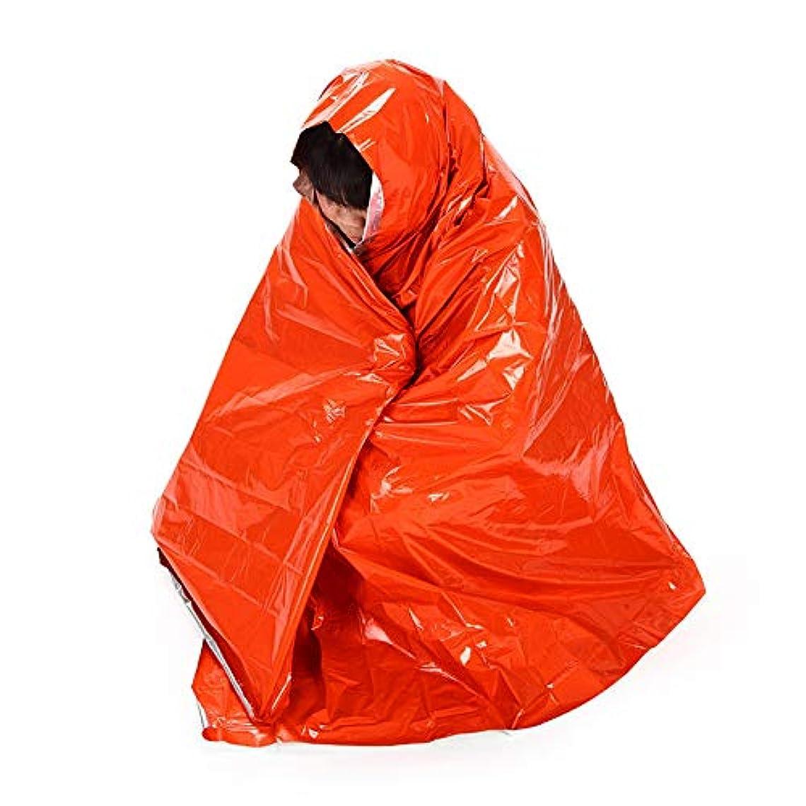 鉛筆困惑する遠洋の210 * 130CMハイキングキャンプ断熱材緊急毛布屋外日焼け防止マット