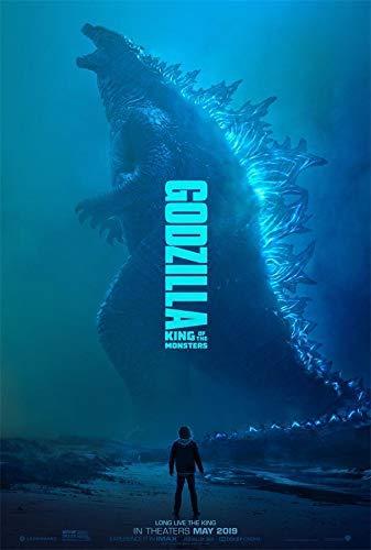 【まとめ割引あり】 即発送 ゴジラ キング・オブ・モンスターズ 90cm x 60cm ポスター 海外告知版 Godzilla