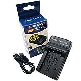 [str] Panasonic パナソニック VW-BC10-K 互換USB充電器カメラバッテリーチャージャーVW-VBK360-K/VW-VBK180-K/VW-VBT190-K/VW-VBT380-K/VW-VBK180/VW-VBK360/VW-VBT380/VW-VBT190 HC-WX1M / HC-WZX1M / HC-VX1M HDC-TM70/HDC-TM60/HDC-HS60/HDC-TM35/HDC-TM90/HDC-TM95/HDC-TM85/HDC-TM45/HDC-TM25/HC-V700M/HC-V600M/HC-V300M/HC-V100M/HC-WX995M / HC-VX985M/HC-V210M / HC-V230M / HC-V360M / HC-V480M / HC-V520M / HC-V550M / HC-V620M / HC-V720M / HC-V750M / HC-VX980M / HC-W570M / HC-W580M / HC-W850M / HC-W870M / HC-WX970M / HC-WX990M / HC-WXF990M