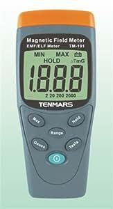 電磁波測定器  ガウスメーター デジタル TM-191
