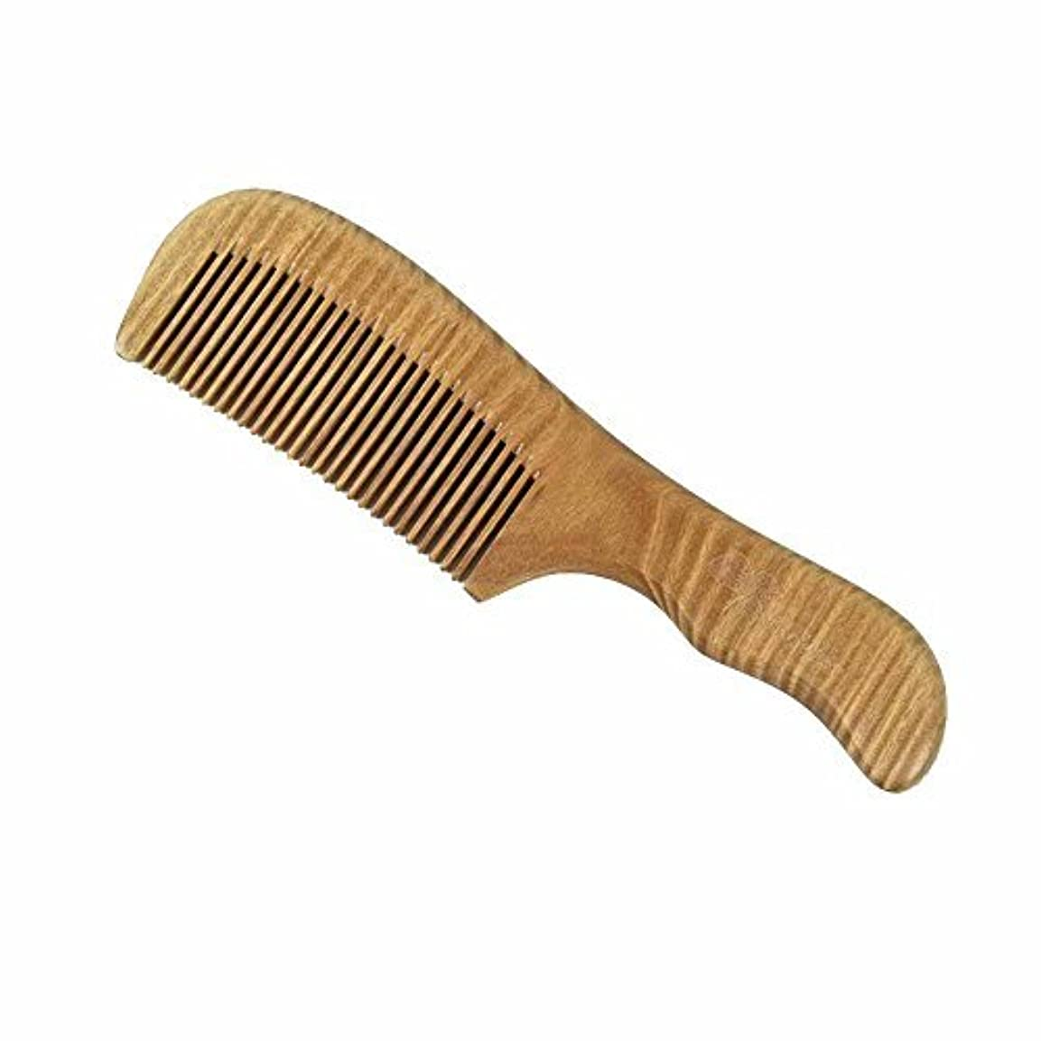 留まるアジテーション縁石Wooden Hair Brush, by GoWoo, Fine Tooth, Detangling, Natural and Handmade, for Men and Women, From Earth to Earth...