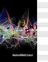 Notenblatt Leer: Leeres Notenblatt Papier, Notenblatt Leer Klavier, Leere Notenzeilen, leeres notenpapier