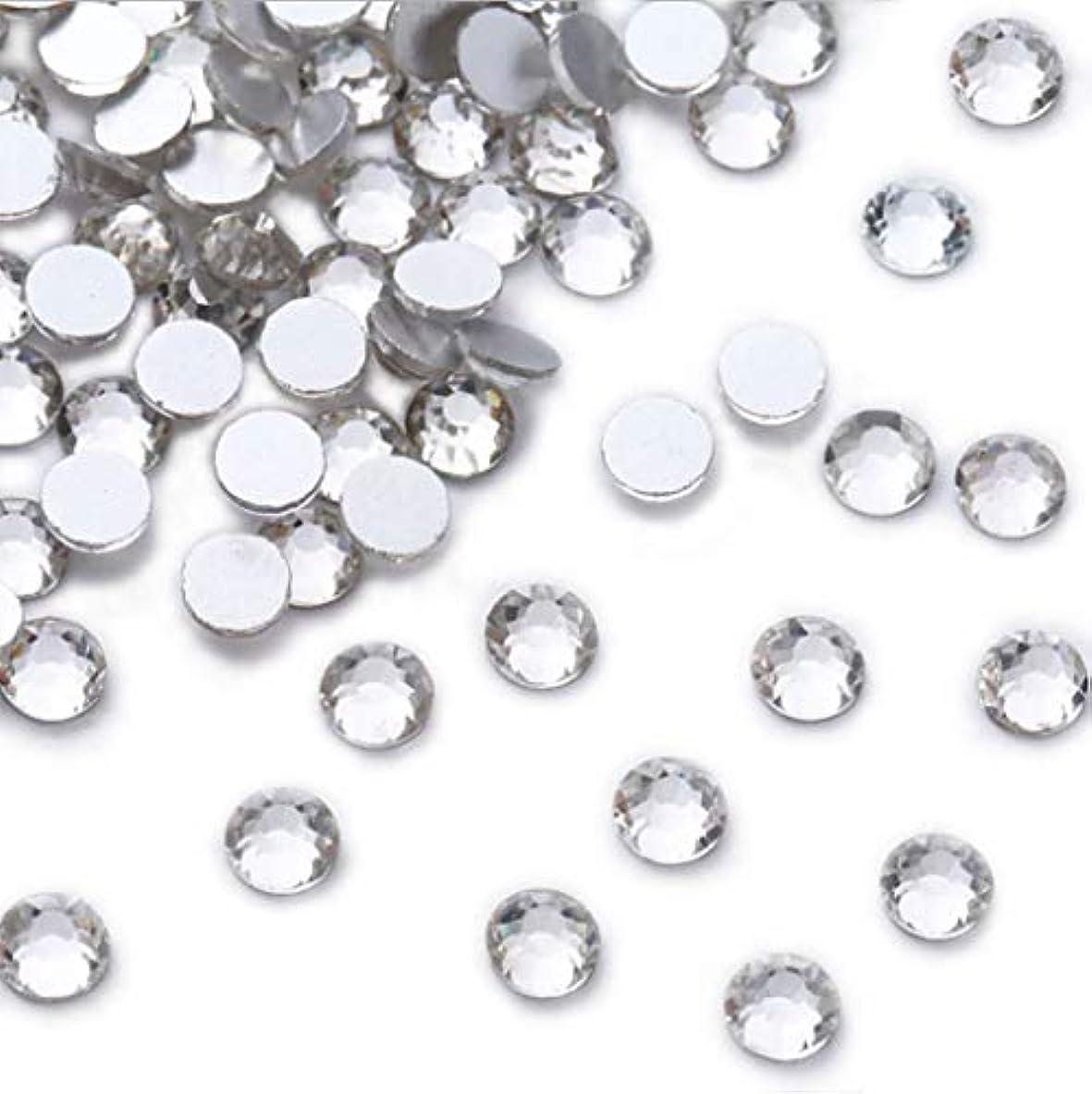 ウールミサイル痴漢XIULIラインストーン DIY ネイルを飾てと服装使用 高い採光 ホワイト ss3-30 (2.0mm ss6(1440粒), サイズ)