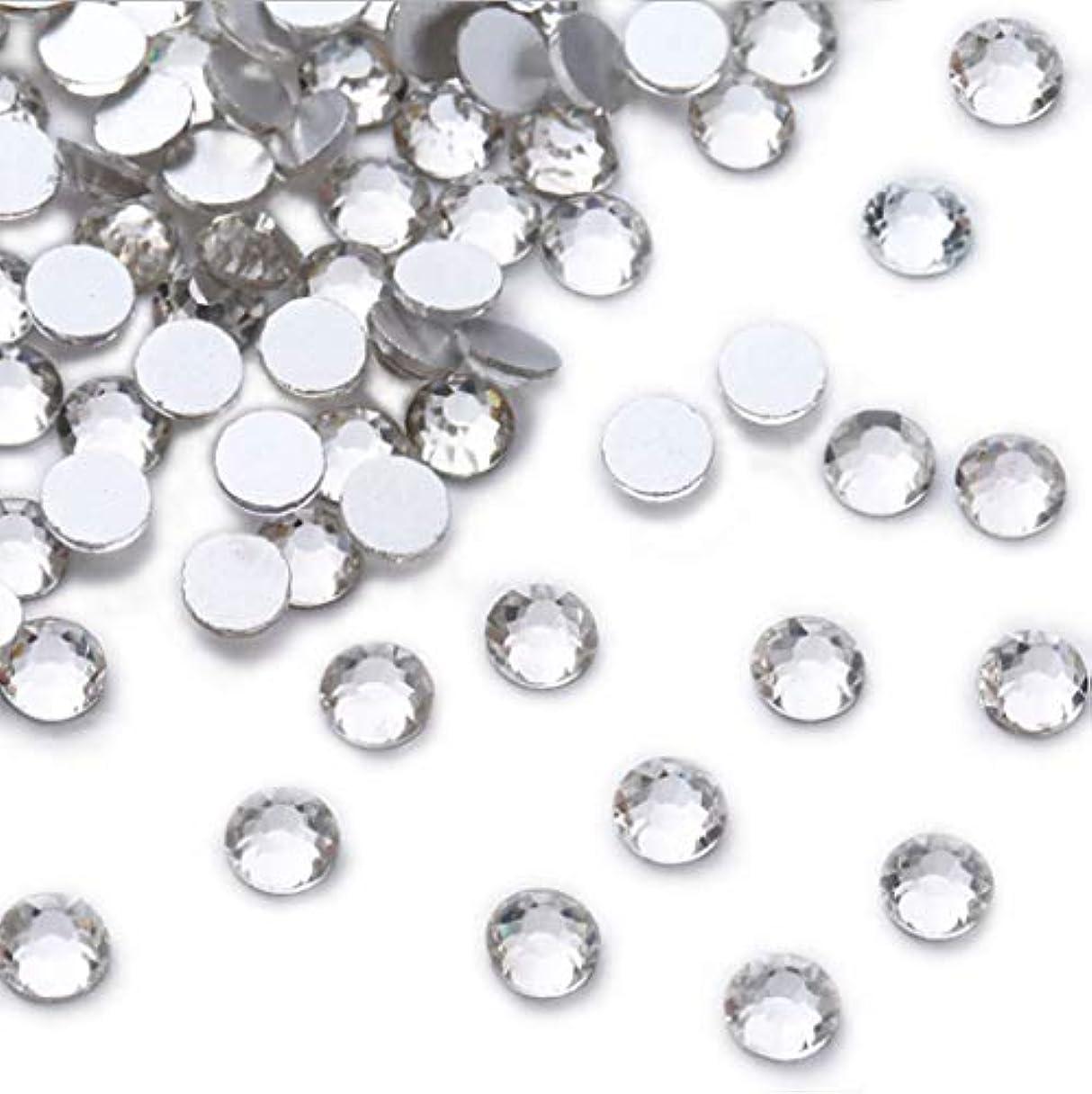 ブロンズ科学者荷物XIULIラインストーン DIY ネイルを飾てと服装使用 高い採光 ホワイト ss3-30 (2.8mm ss10(1440粒), サイズ)