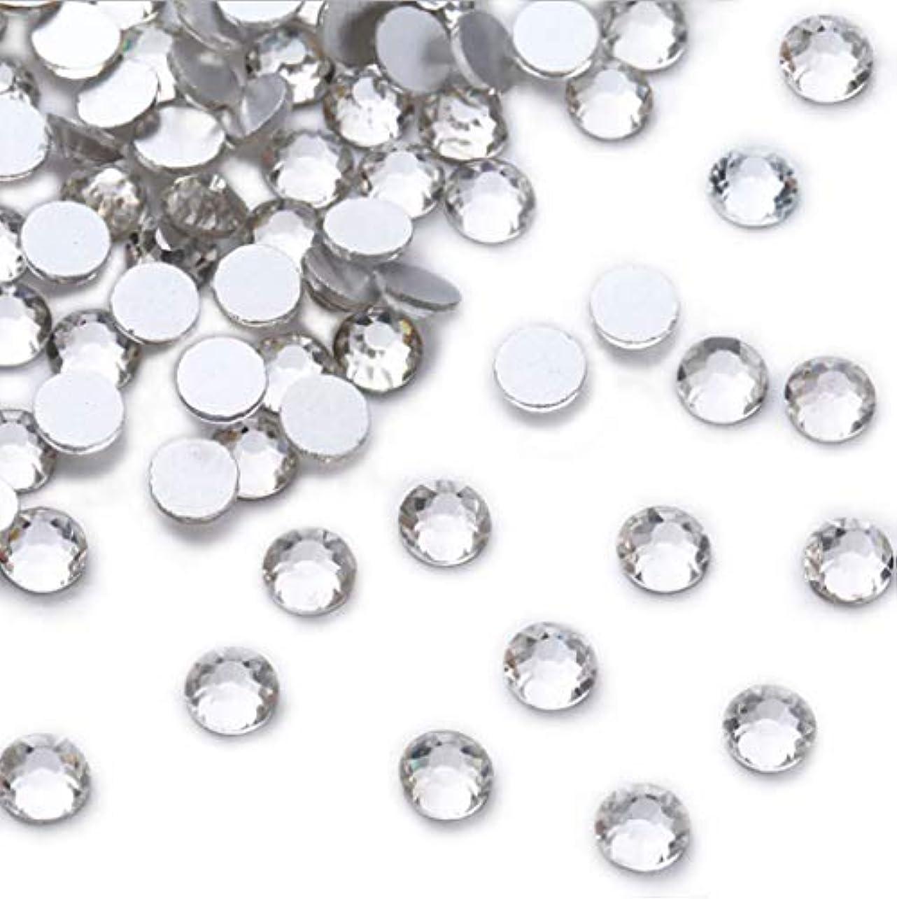 くびれた体系的に困惑するXIULIラインストーン DIY ネイルを飾てと服装使用 高い採光 ホワイト ss3-30 (6.5mm ss30(288粒), サイズ)